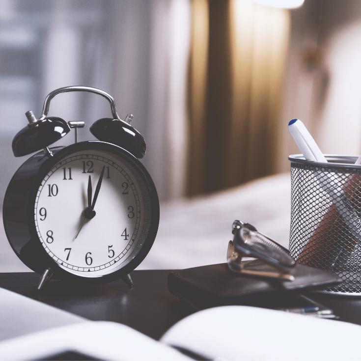productivity; time management; habits for effective time management; how to get more time in your day
