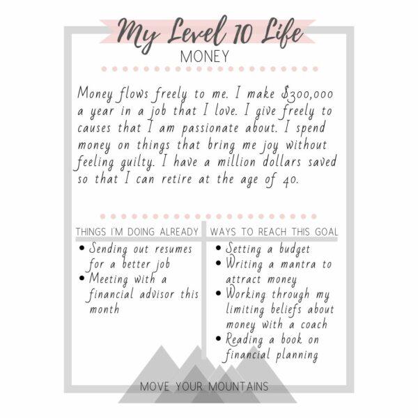 life audit, level 10 life, visualizing the best life ever