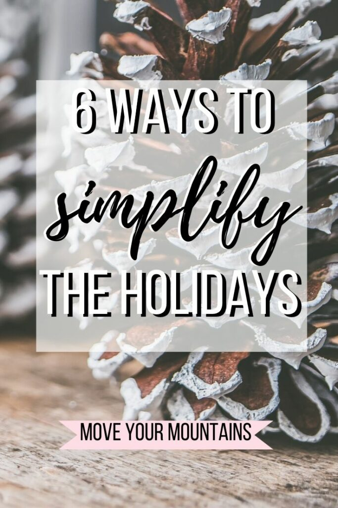 simple Christmas traditions; how to slow down Christmas time; how to have a more mindful Christmas; simplifying Christmas; slowing down Christmas; slow traditions for the holidays;