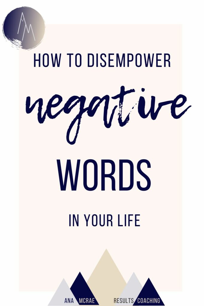 negativity, negative thinking, negative speaking, weasel words, trigger words, how to disempower negative thoughts, how to disempower negative words, how to not let other people's words affect you, other people's opinions, stop caring what other people think, how to reframe your trigger words, how to be more positive, how to not let other people's words affect you