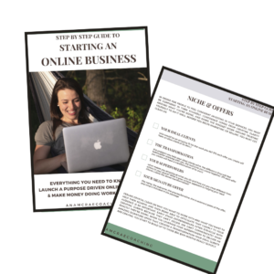 ultimate step by step guide to starting an online business and making money online